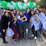 Feira de adoção de animais realizados pelos acadêmicos de medicina veterinária Unifacp