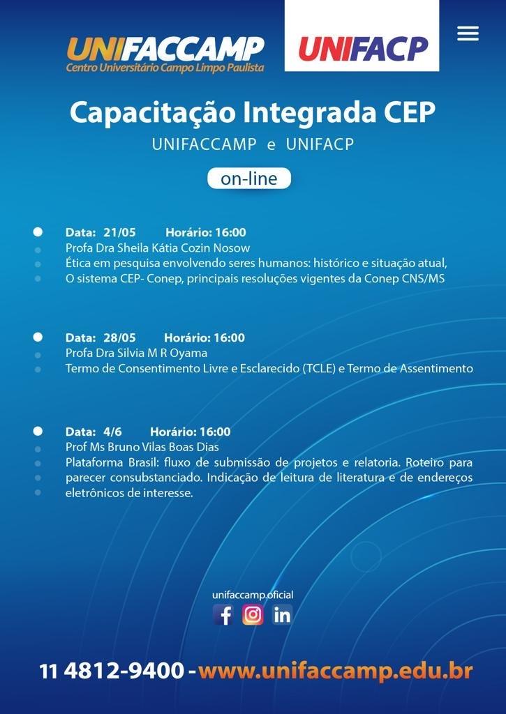 Comitê de Ética e Pesquisa UNIFACP