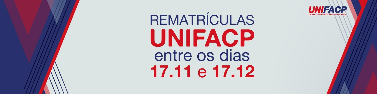Unifacp Rematrícula 2021