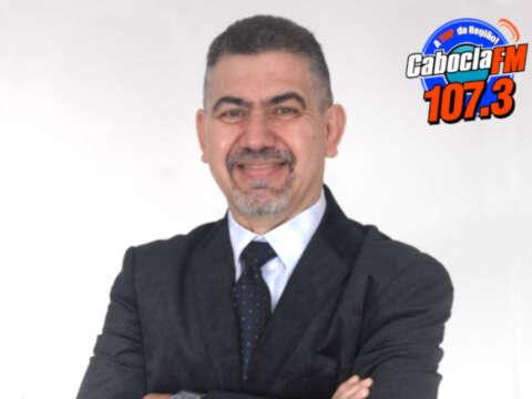 Professor Roberto Daher na Rádio Cabocla